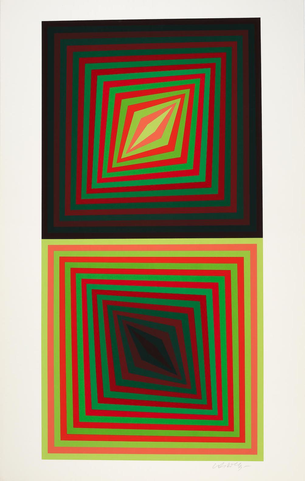 Victor Vasarely-Usteok-1975