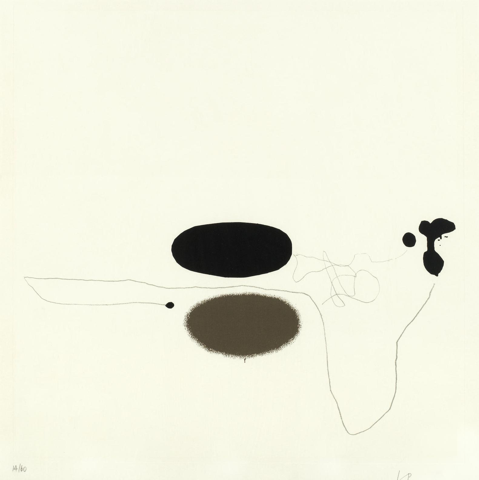 Victor Pasmore-Linear Development 4, From Points Of Contact - Linear Developments-1971