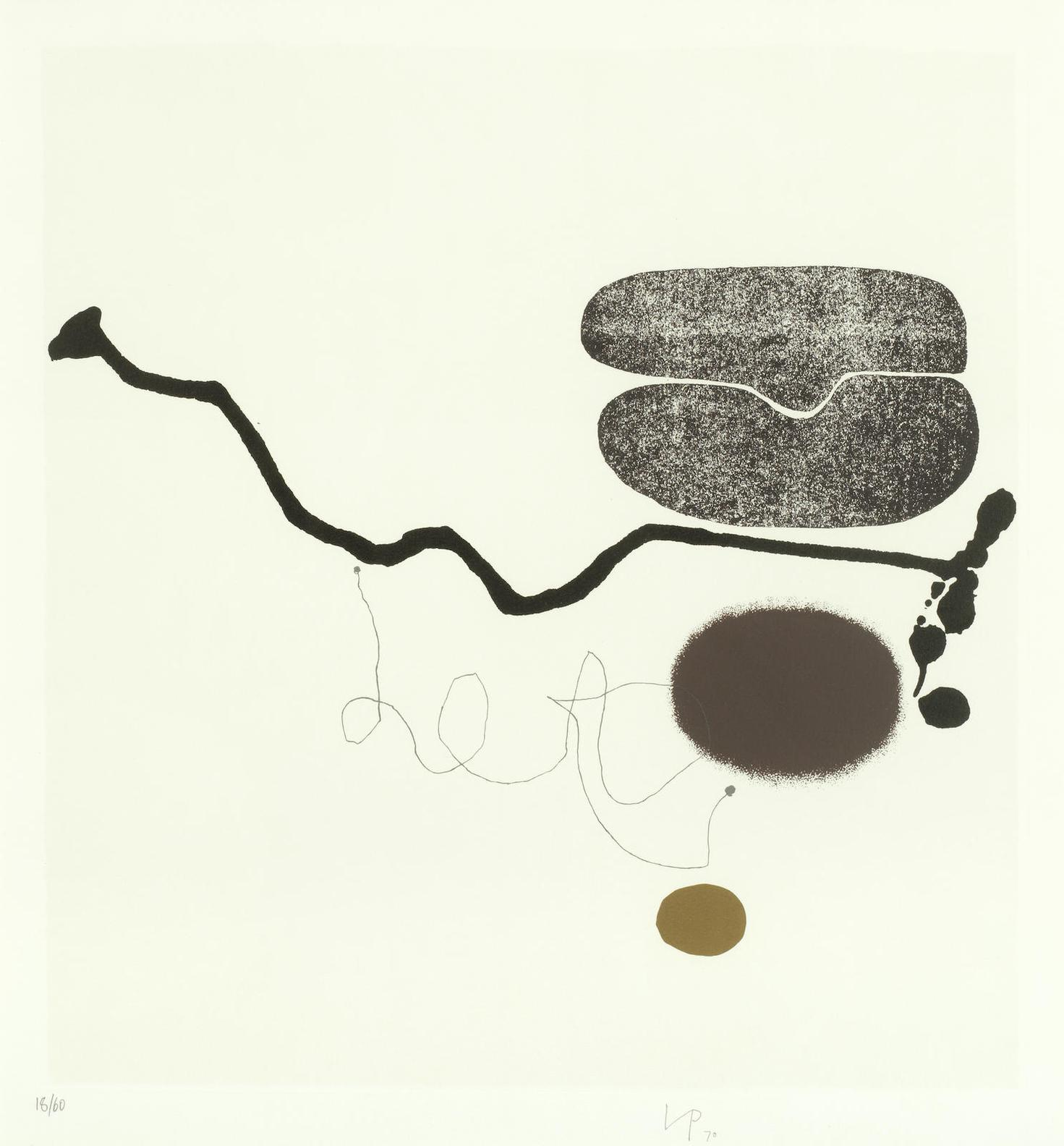 Victor Pasmore-Linear Development 7, From Points Of Contact - Linear Developments-1971