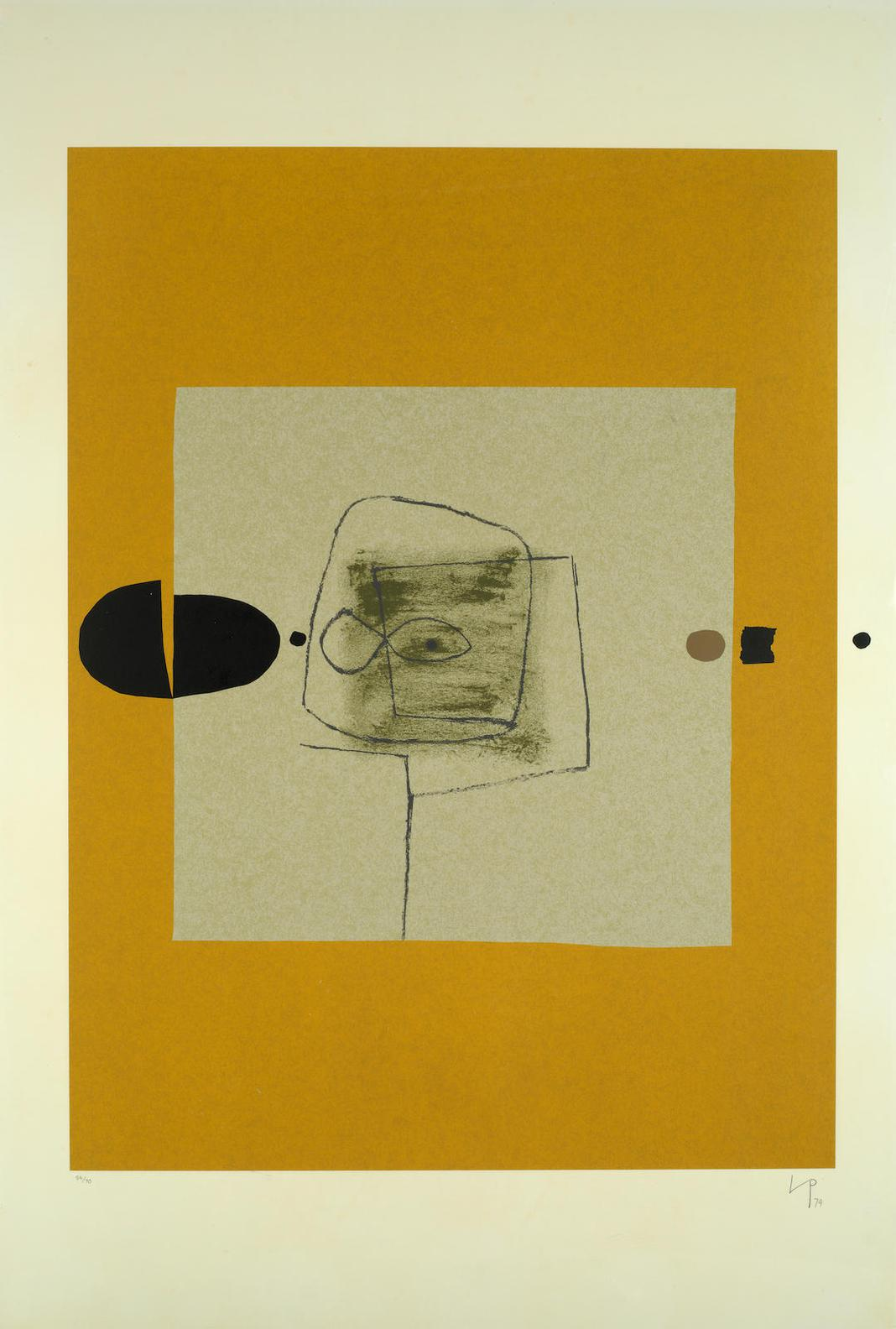 Victor Pasmore-Point Of Contact No. 27-1974