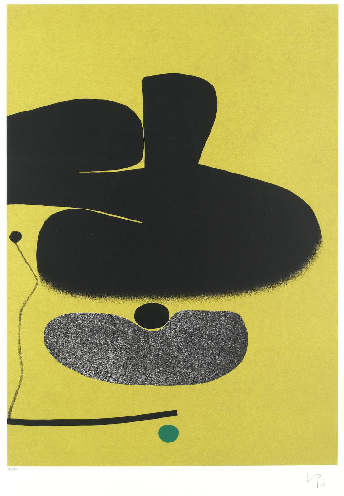 Victor Pasmore-Point Of Contact No. 18-1974