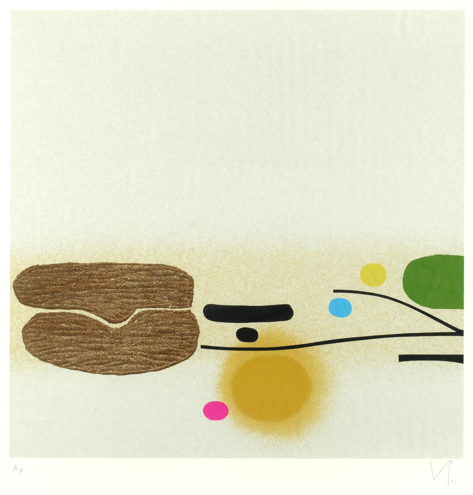 Victor Pasmore-Points Of Contact No. 36-1982