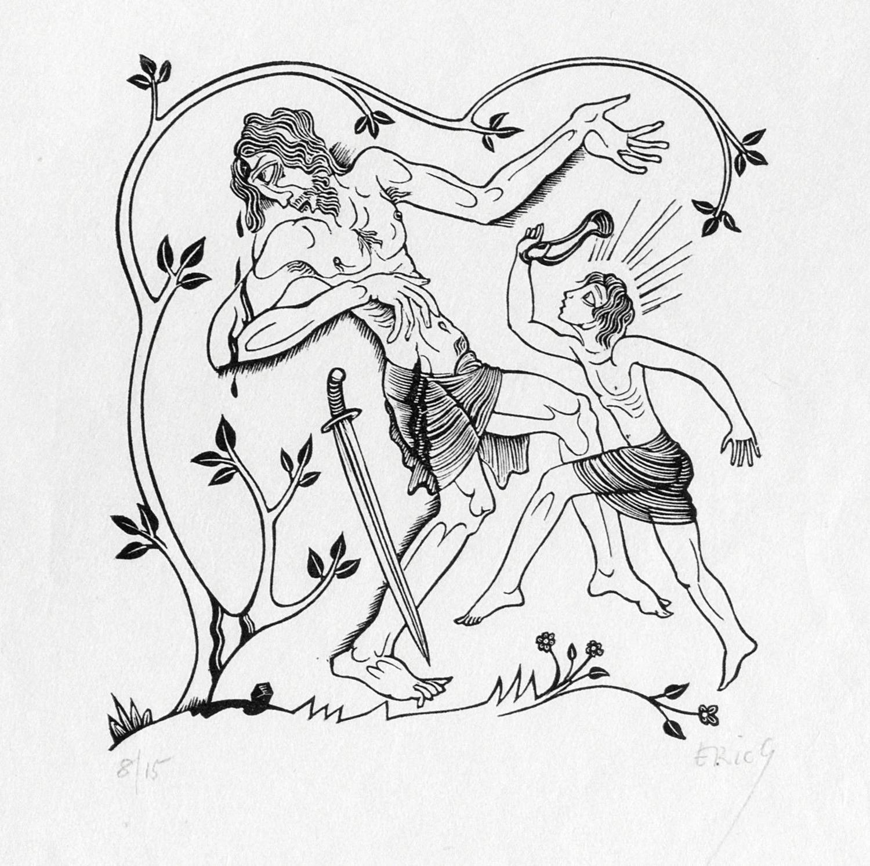 Eric Gill-A Collection (Skelton P36, P40, P152, P186, P328, P483, P715, P716, P719, P982)-1938