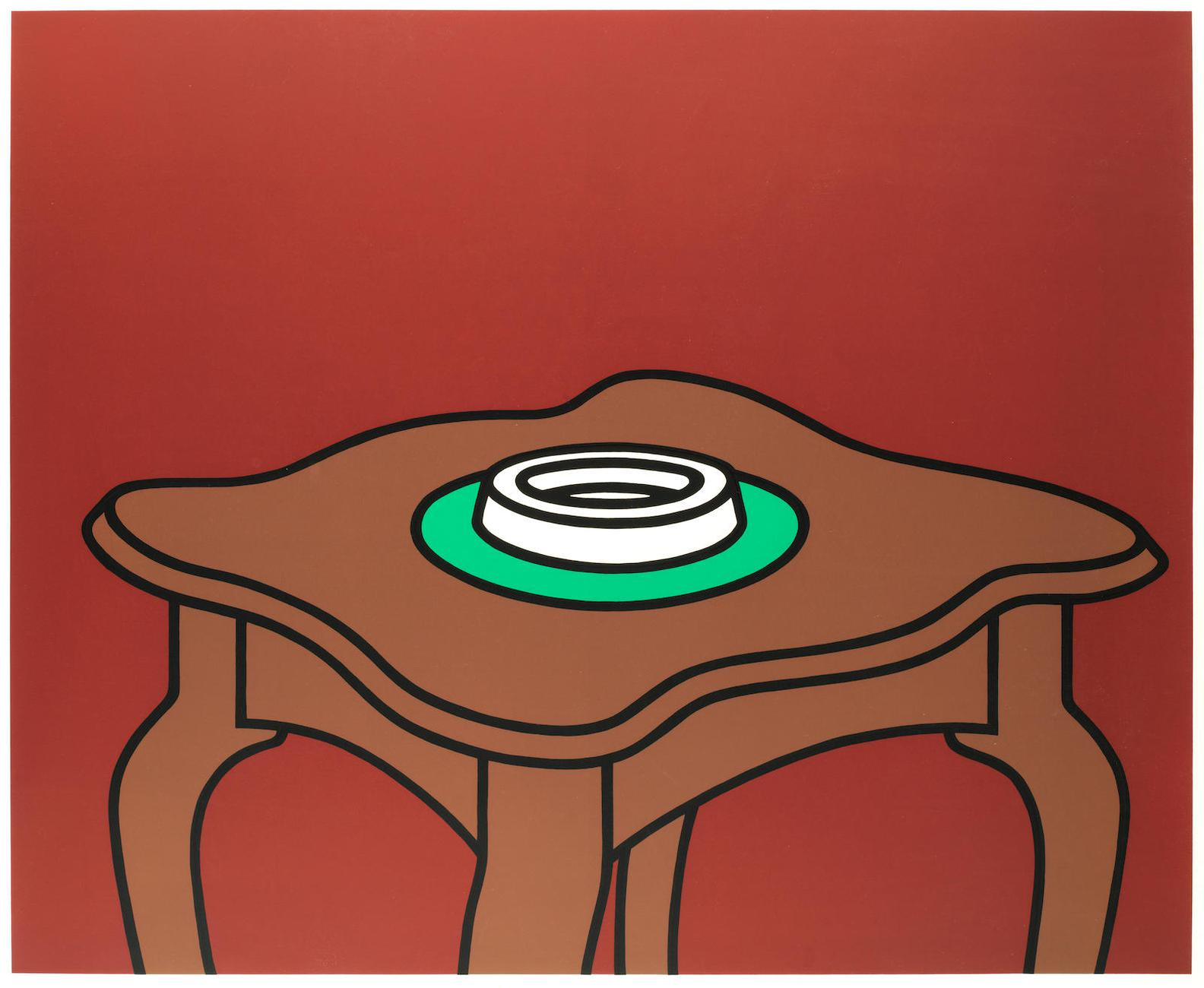 Patrick Caulfield-Occasional Table-1972