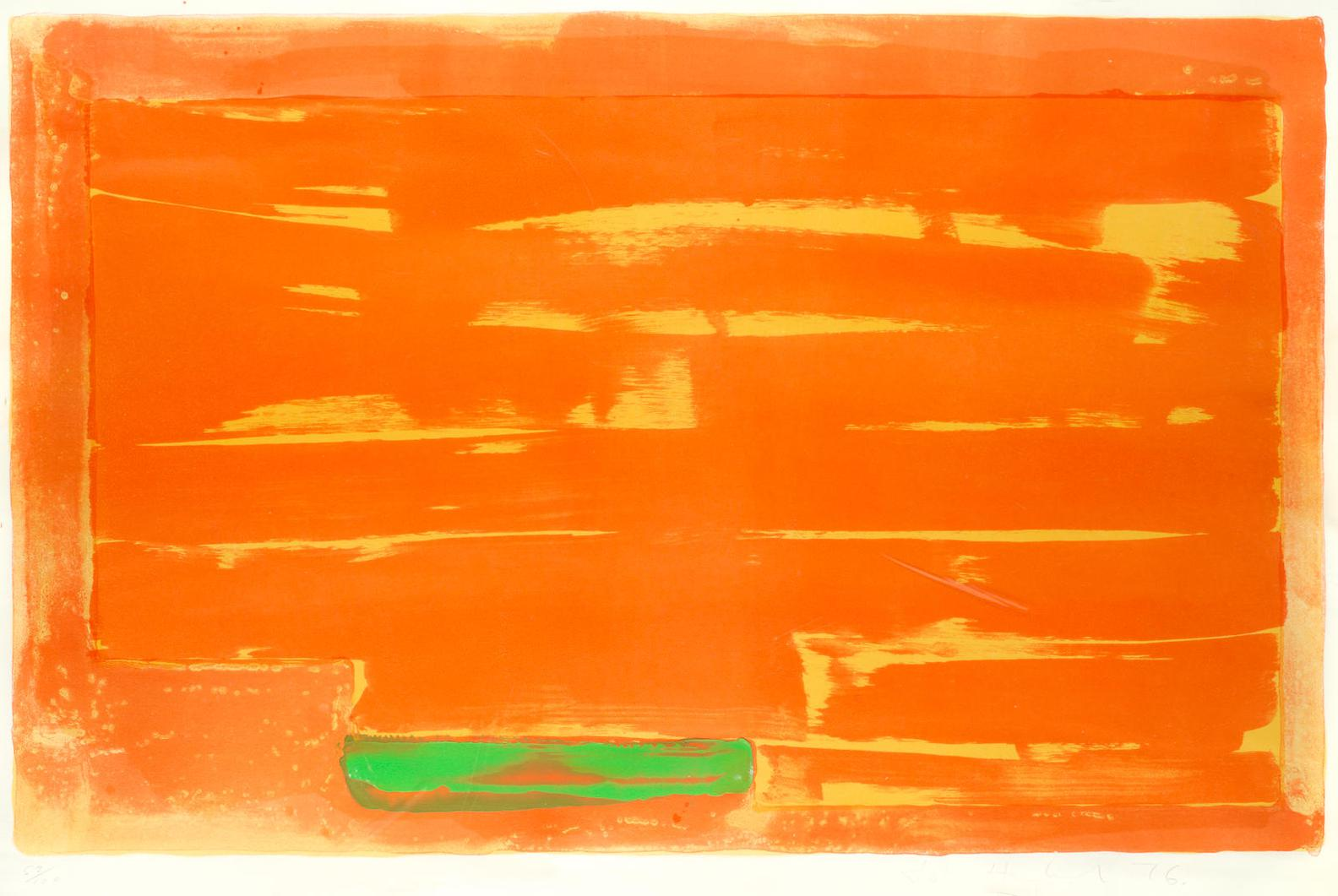 John Hoyland-Homage To Constable-1976