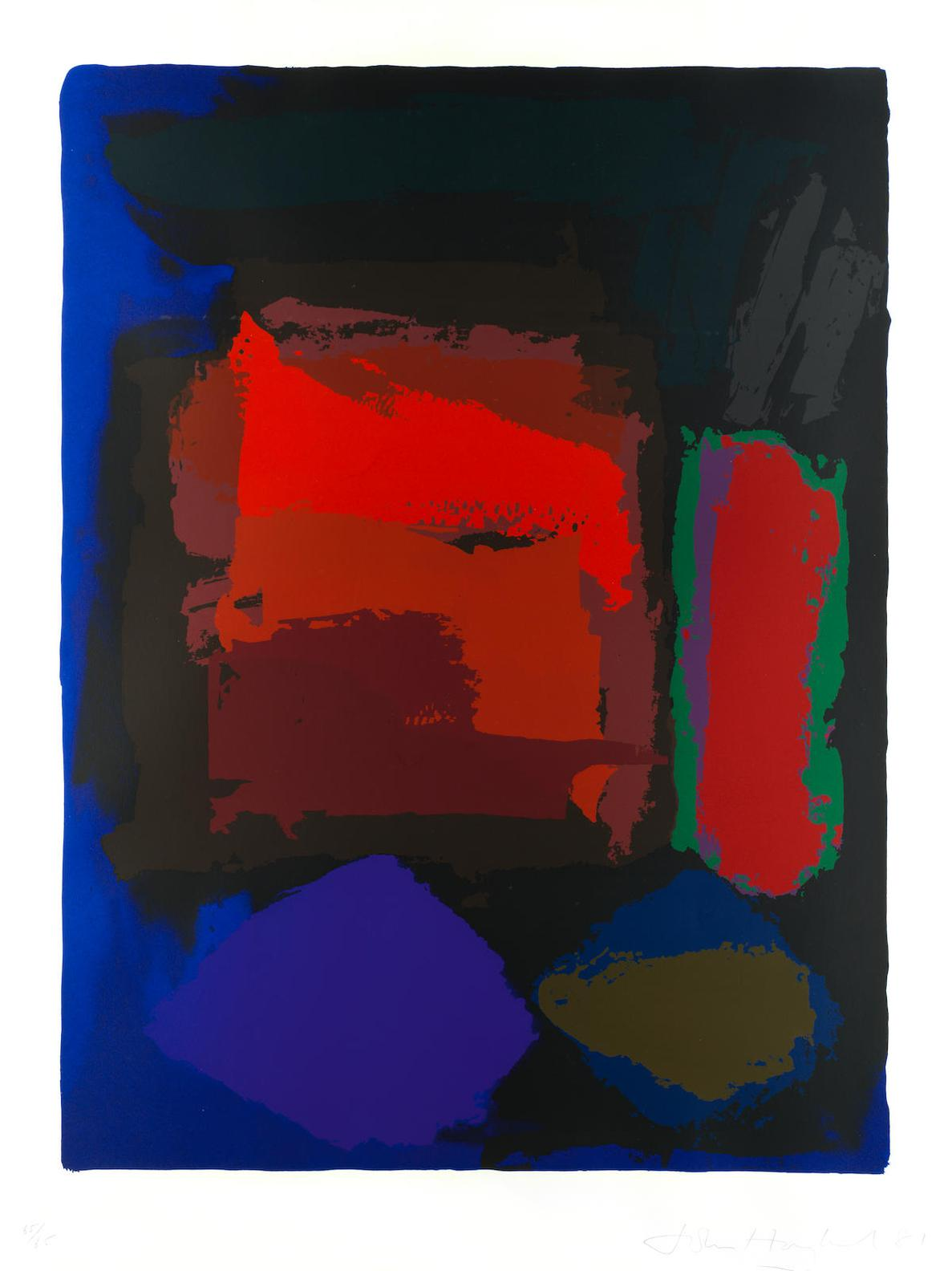 John Hoyland-Xingu-1981