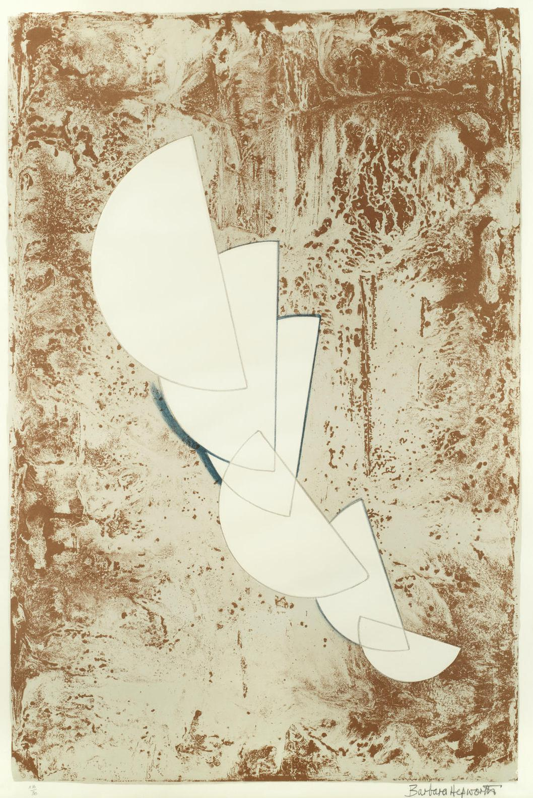 Barbara Hepworth-Fragment, From Aegean Suite-1971