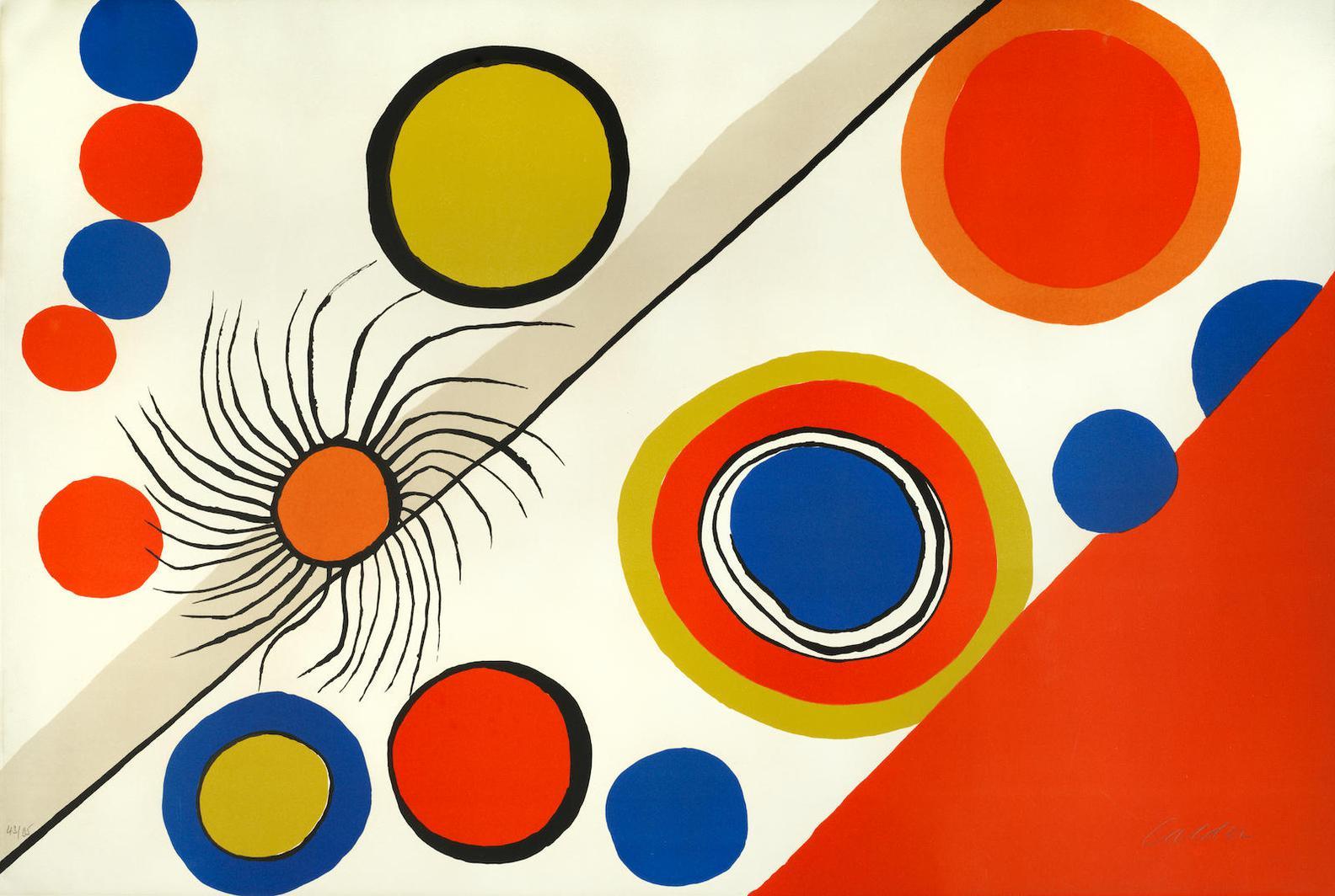 Alexander Calder-Spiders Nest-1975