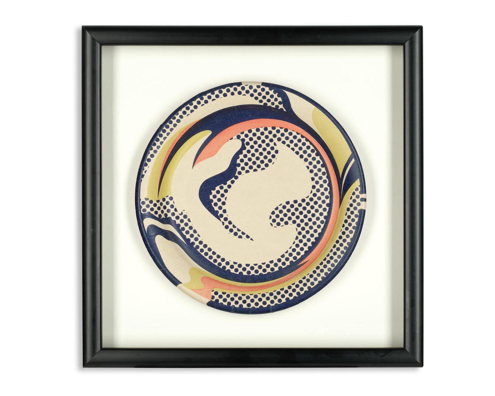 Roy Lichtenstein-Paper Plate-1969