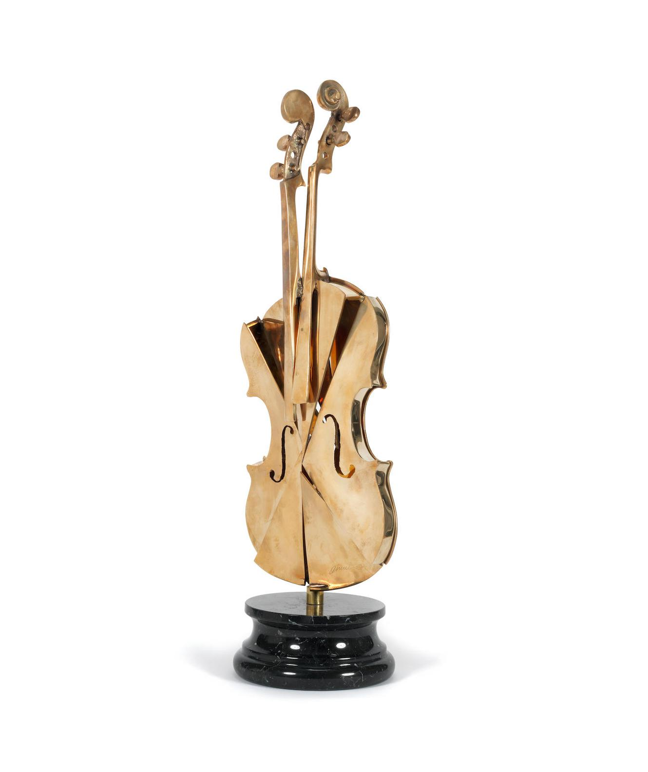 Arman-Untitled (Violin)-2004