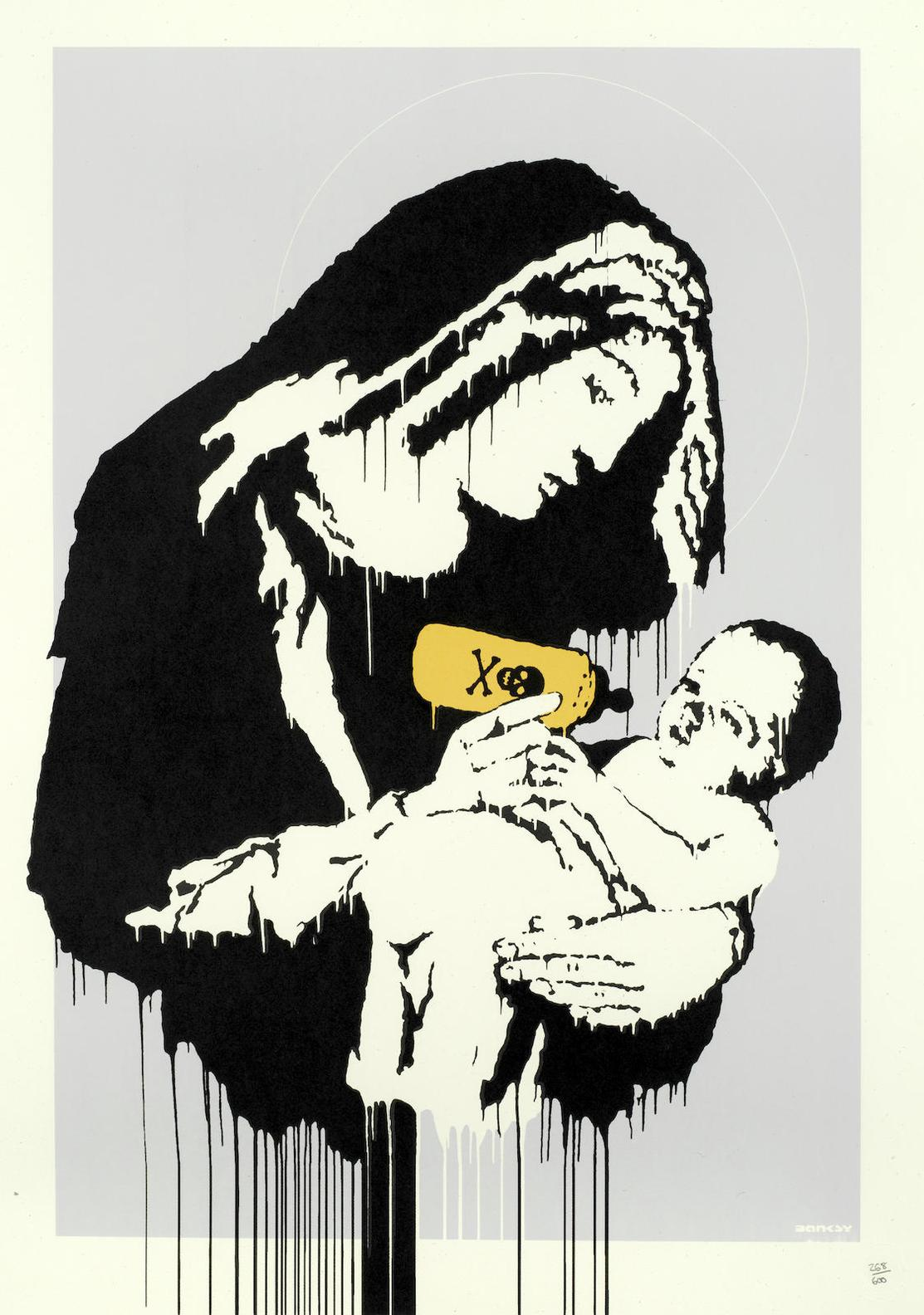 Banksy-Toxic Mary-2003
