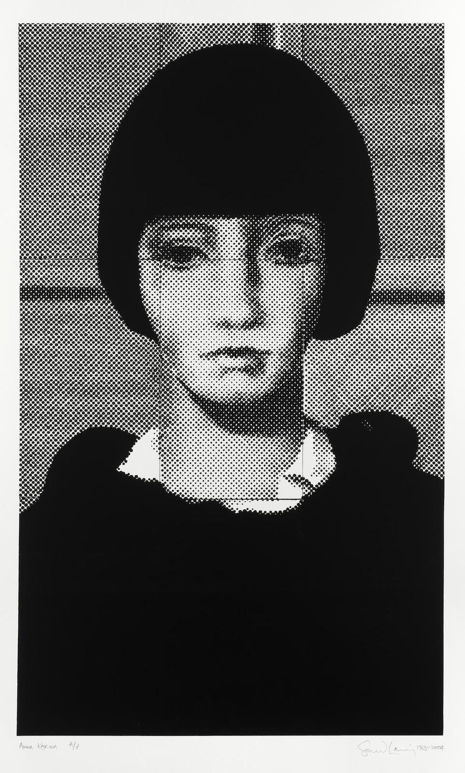 Gerald Laing-Anna Karina-2004