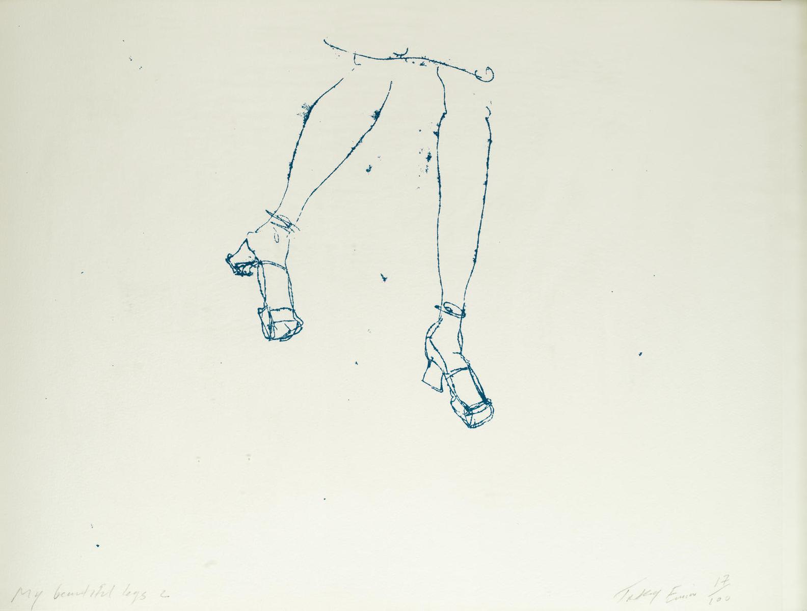 Tracey Emin-My Beautiful Legs 2-1997