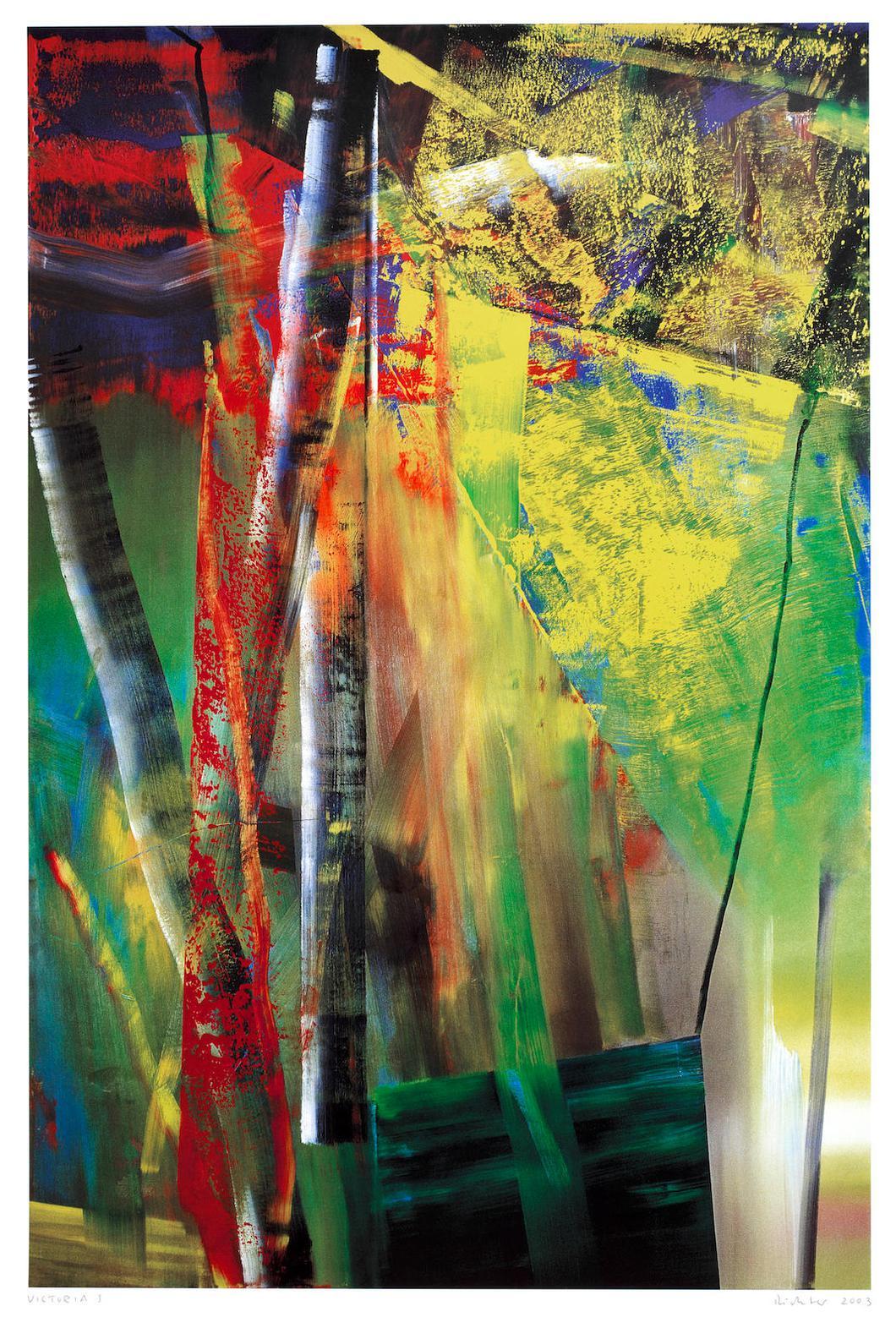 Gerhard Richter-Victoria I & II-2003