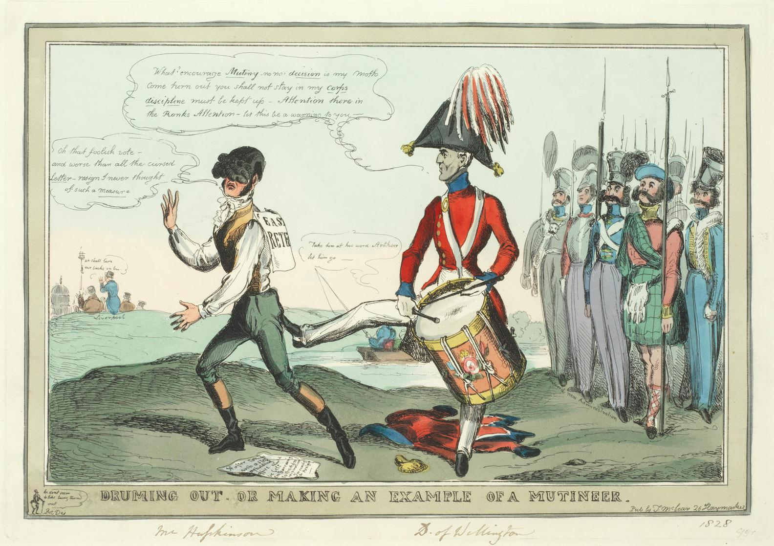William Heath - A Collection Of Ten Caricatures-1835