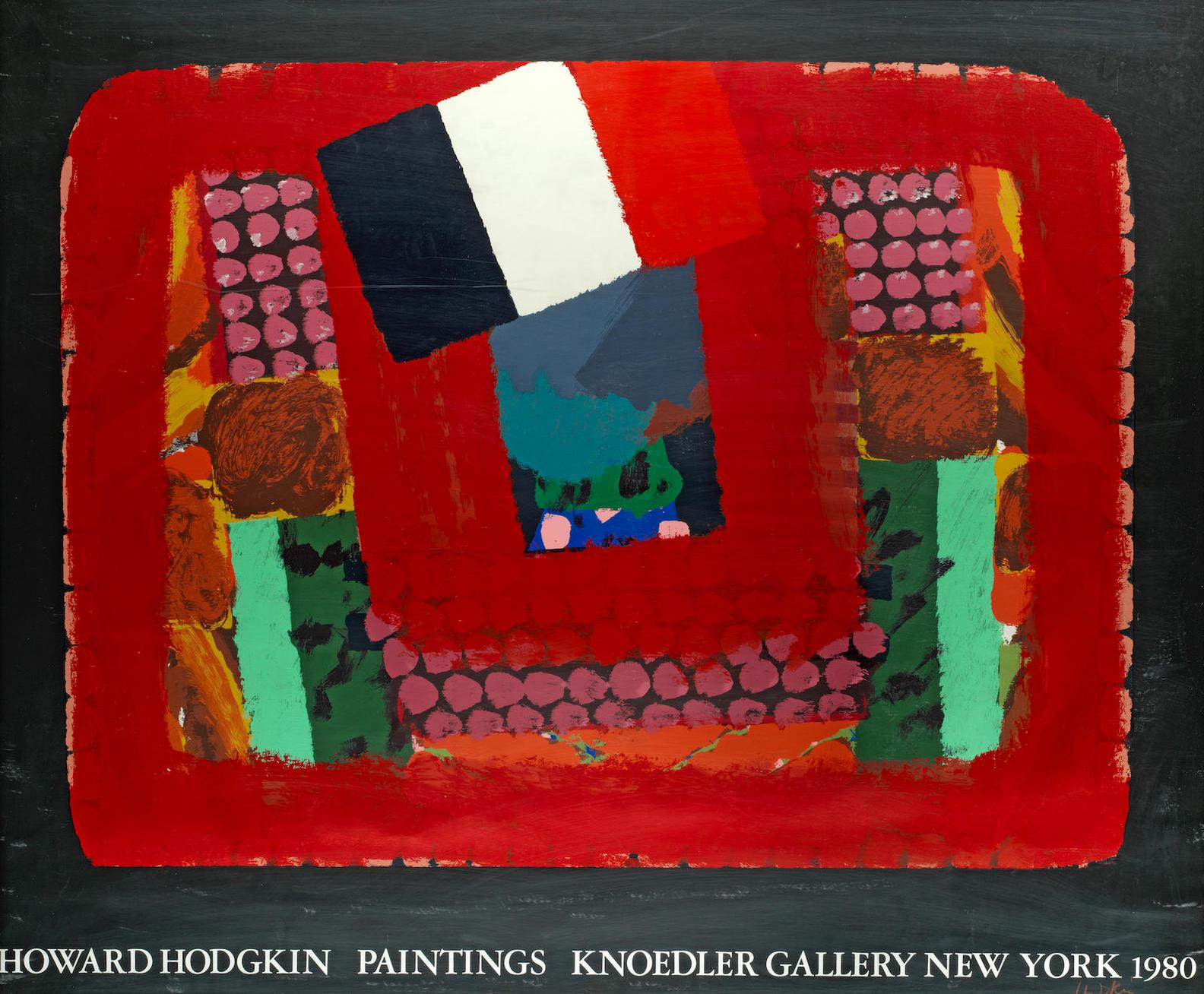 Howard Hodgkin-In A French Restaurant-1982
