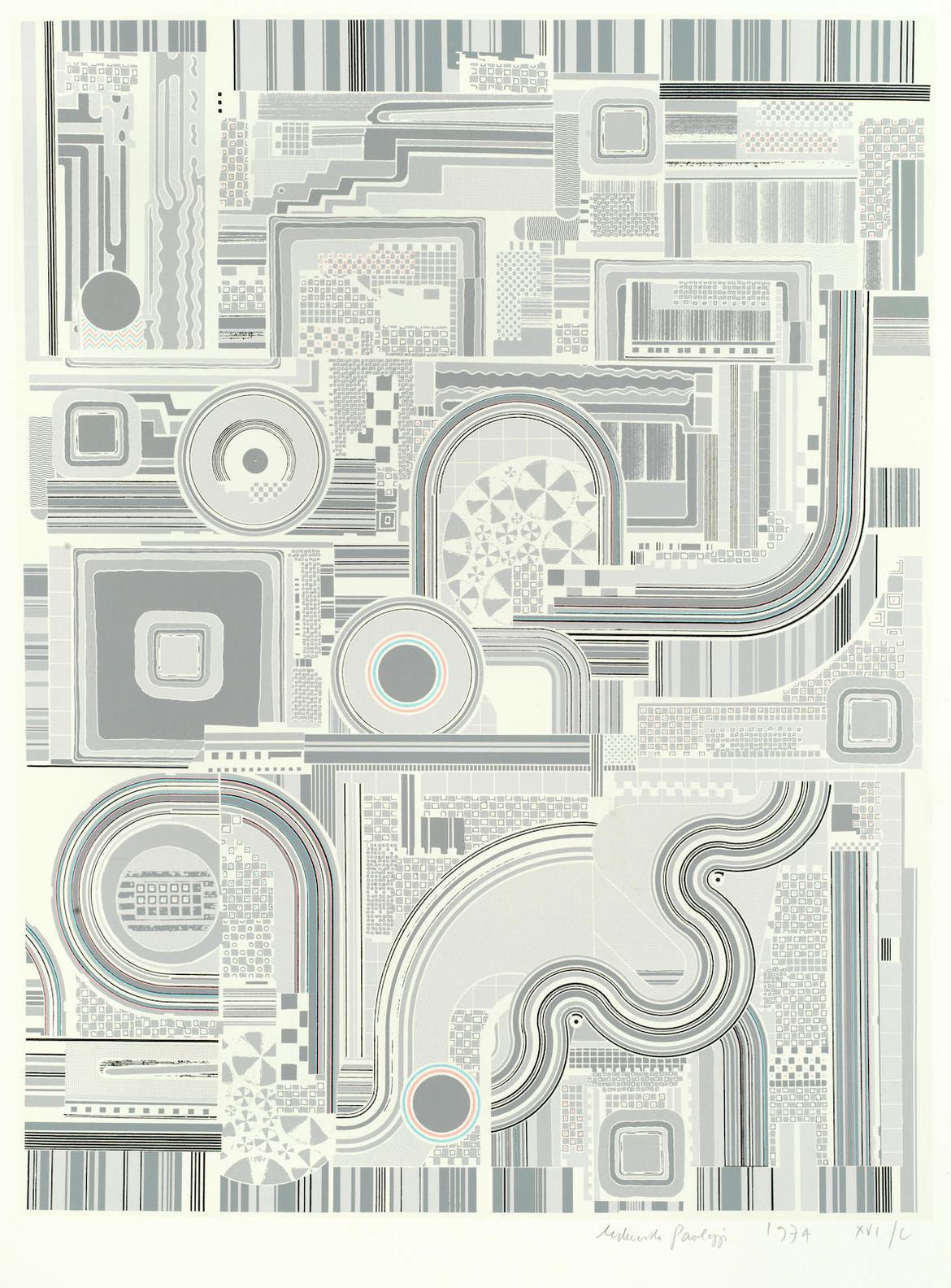 Eduardo Paolozzi-Two Works-1974