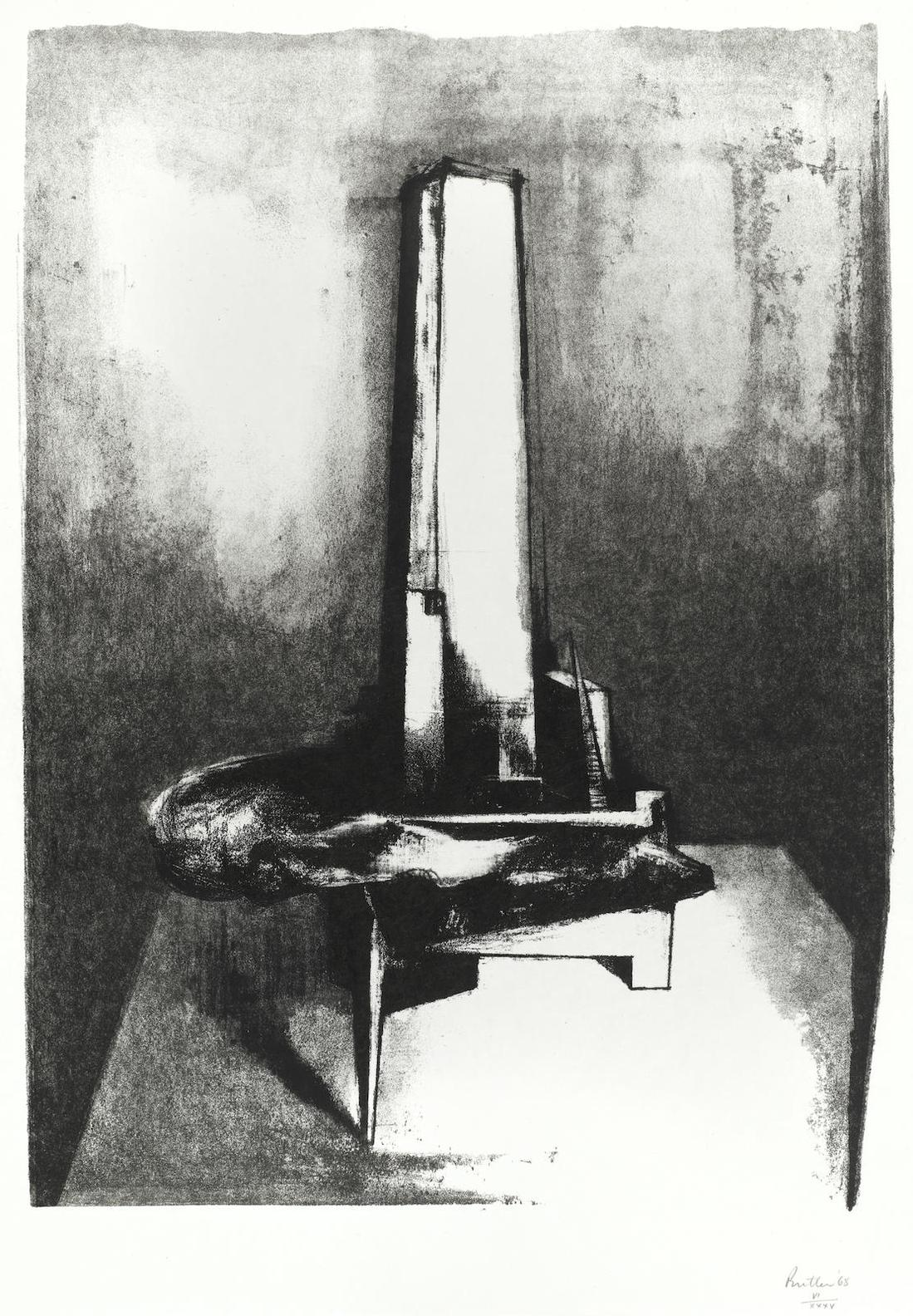 Reg Butler-Tower; Figure In Space-1968