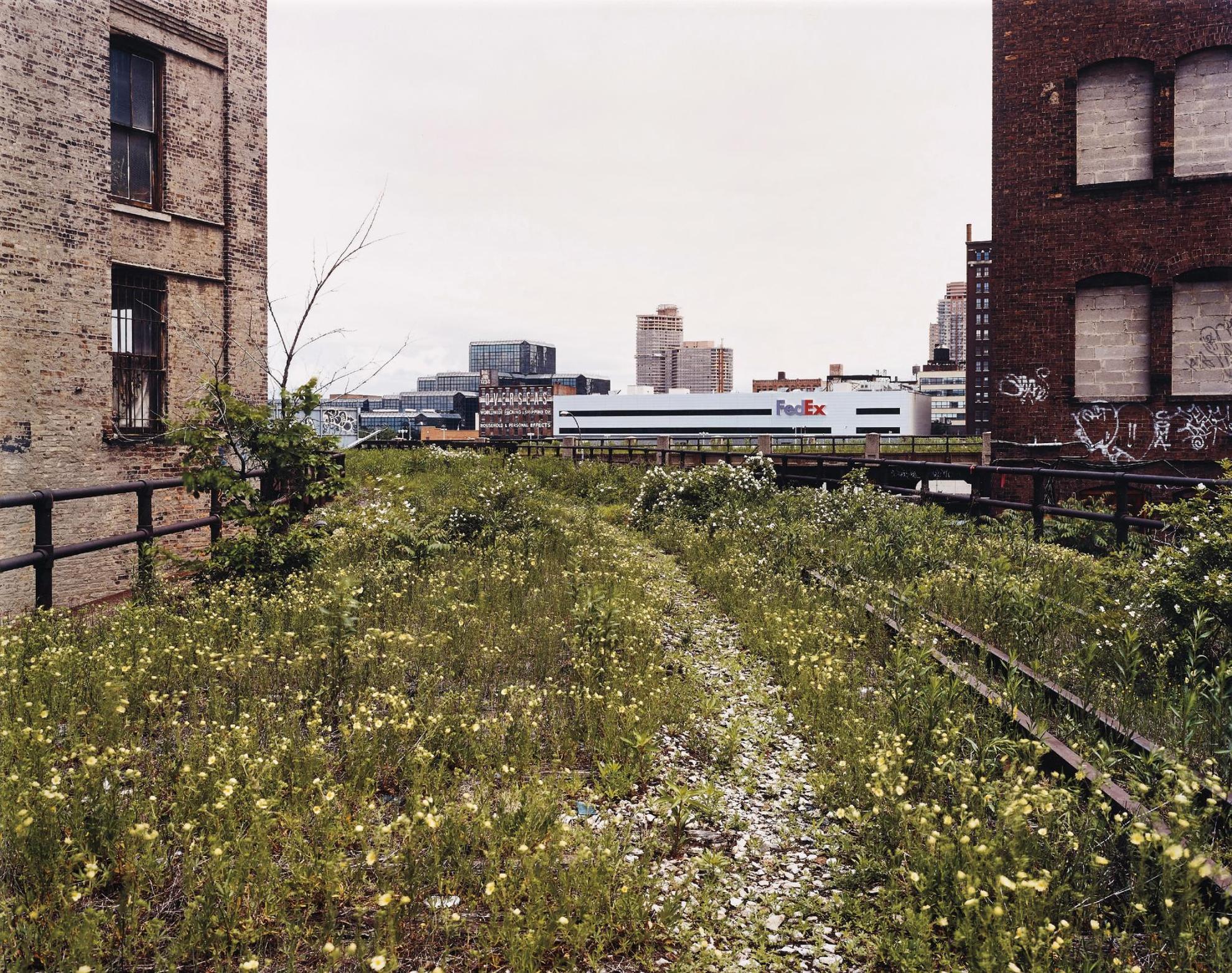 Joel Sternfeld-Looking Northwest From 29Th Street, June 2000-2000