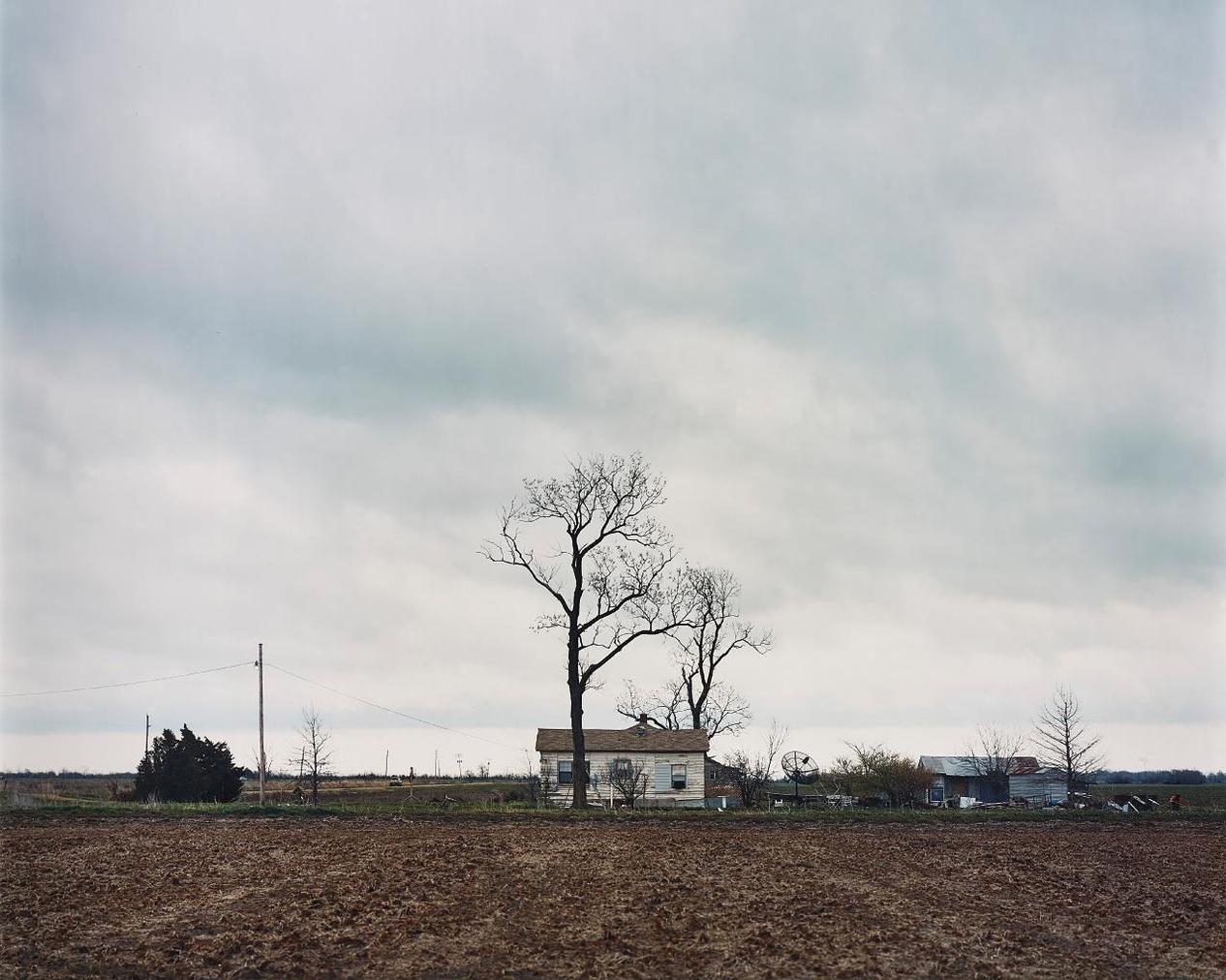 Alec Soth-Johnny Cash's Boyhood Home, Dyess, Arkansas-2002