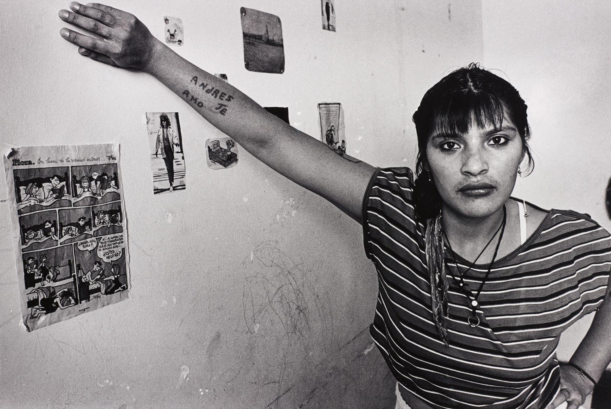 Adriana Lestido-Estela From Mujeres Presas-1992
