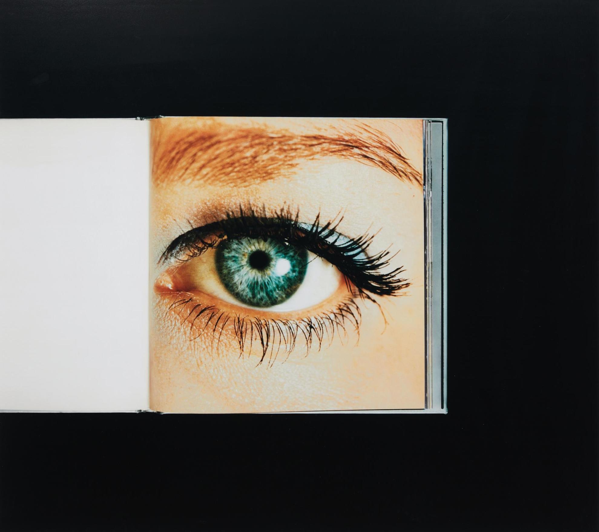 Anne Collier-Eye (Enlargement Of Color Negative)-2007