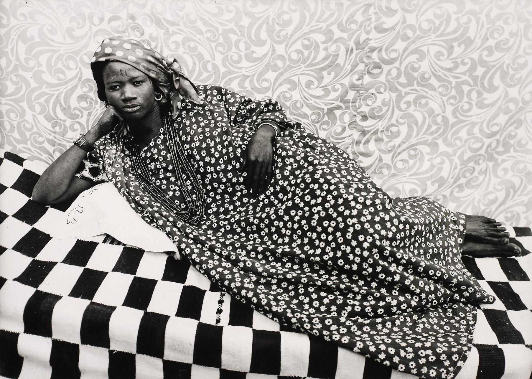 Seydou Keita-Untitled (Odalisque)-1957
