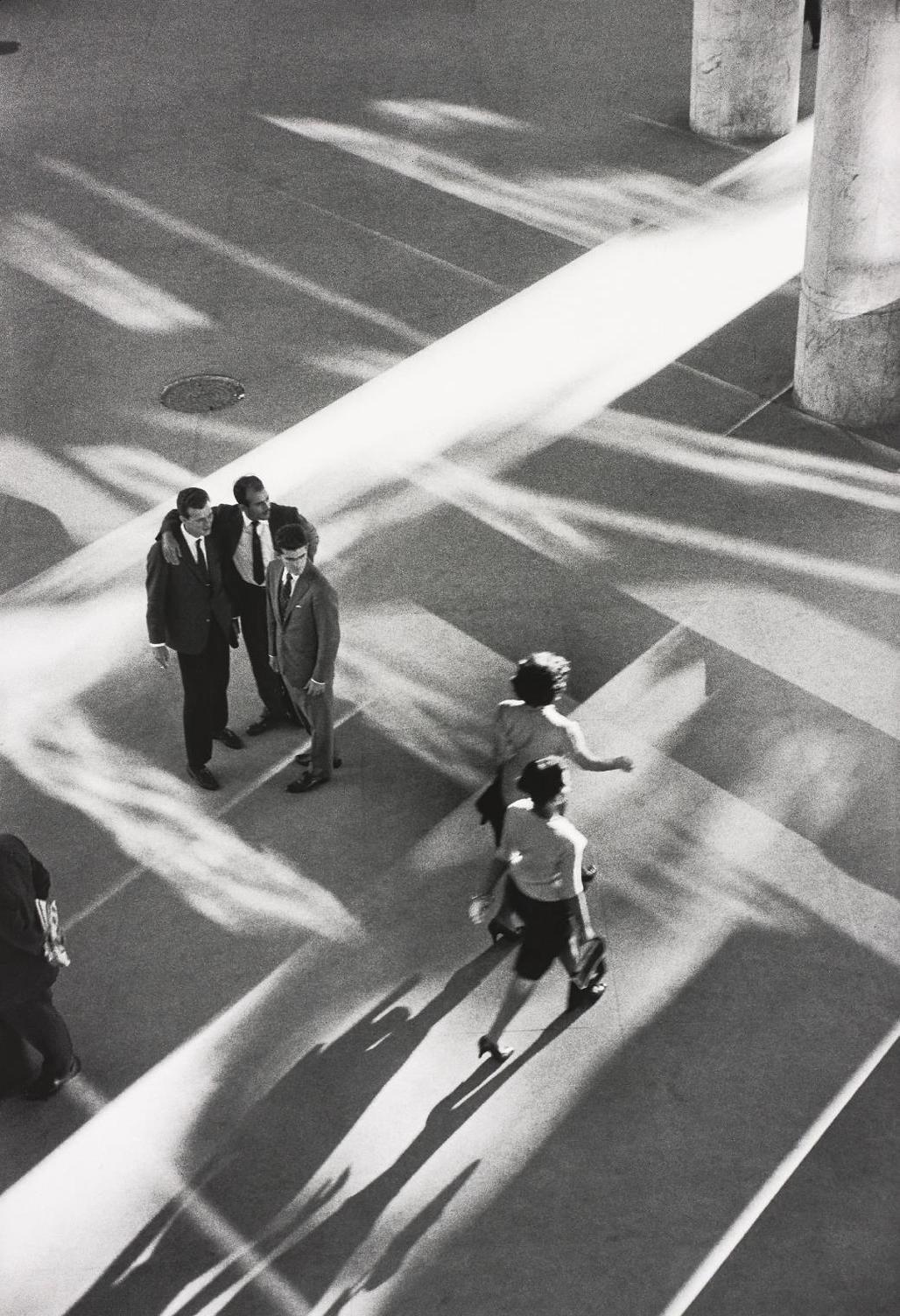 Rene Burri-In The Ministry Of Health, Rio De Janeiro, Brazil-1960