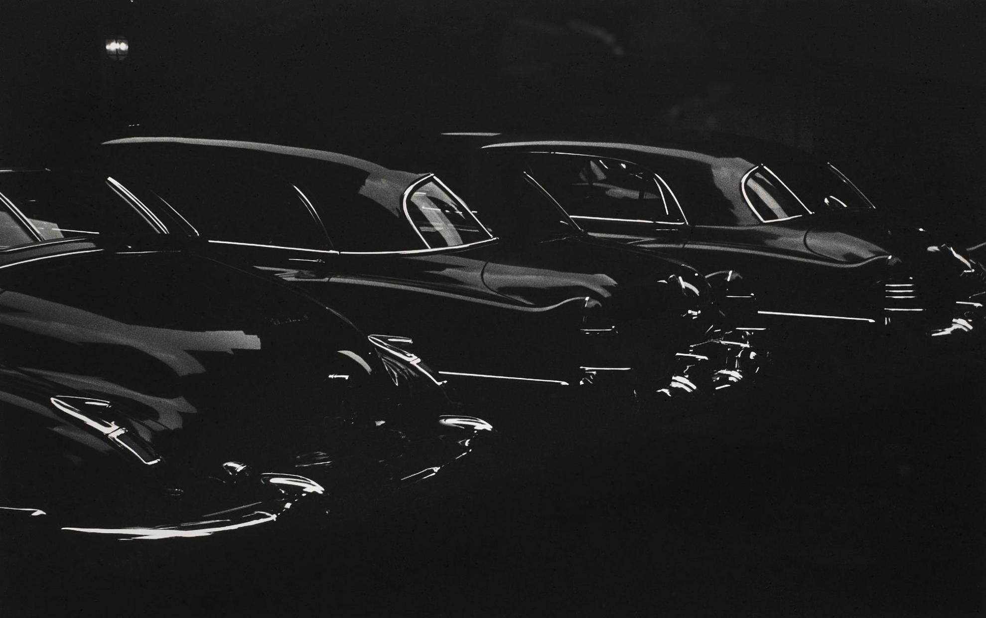 Louis Faurer-Park Ave. Garage At Hotel Marguery, New York City-1950