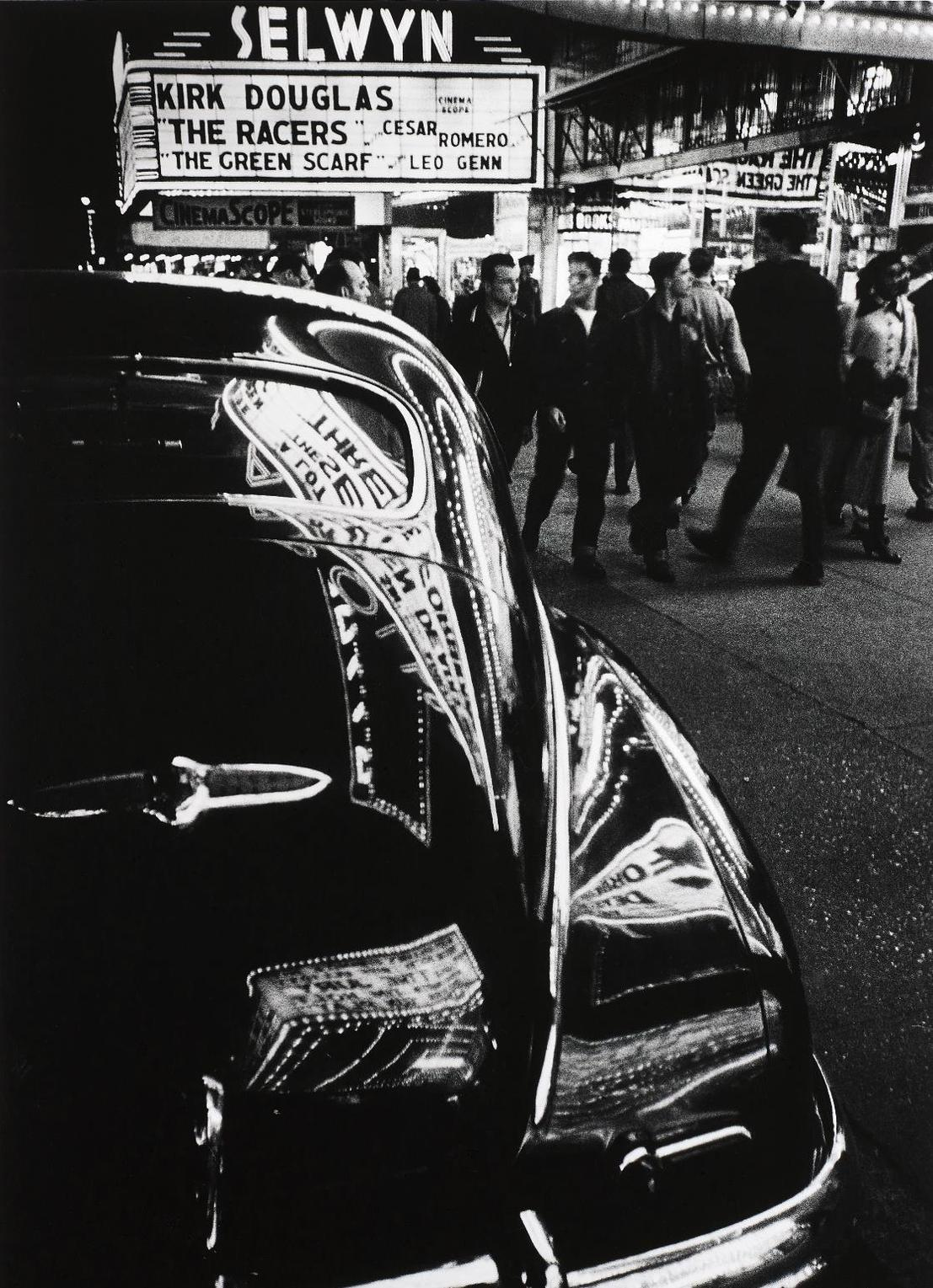 William Klein-Selwyn, 42Nd Street, New York-1955