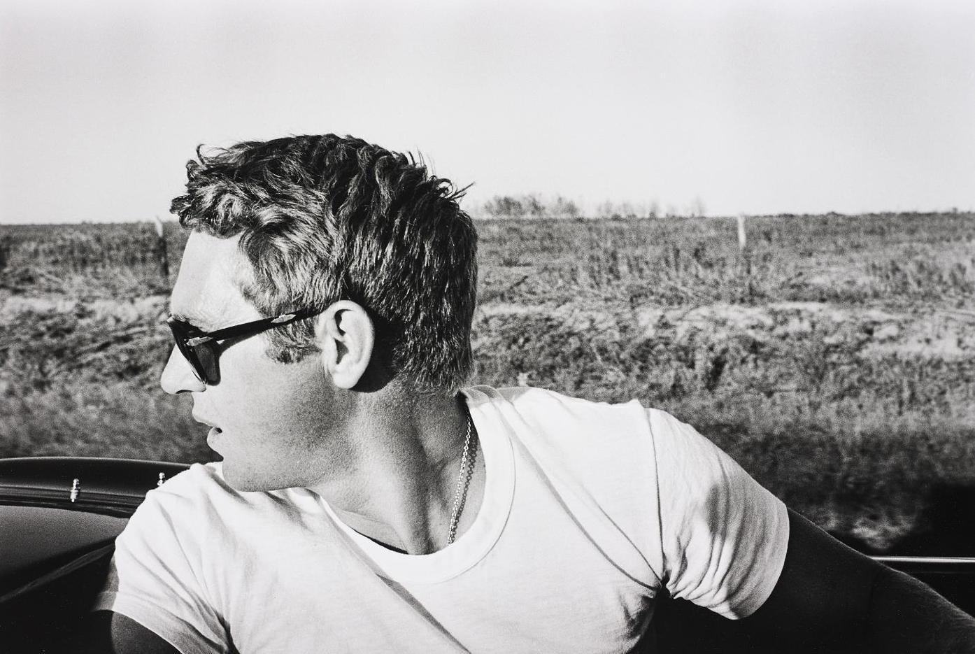 William Claxton-Steve Mcqueen, Columbus, Texas-1963