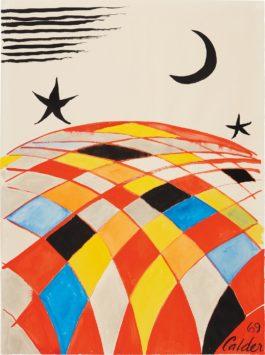 Alexander Calder-Map Mondo-1969