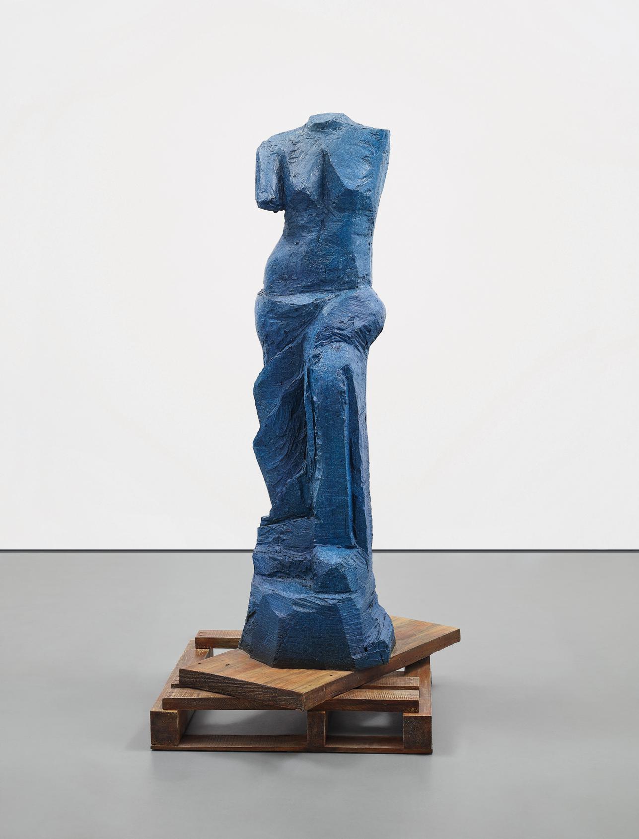 Jim Dine-The Zebra (The Blue Version)-2010