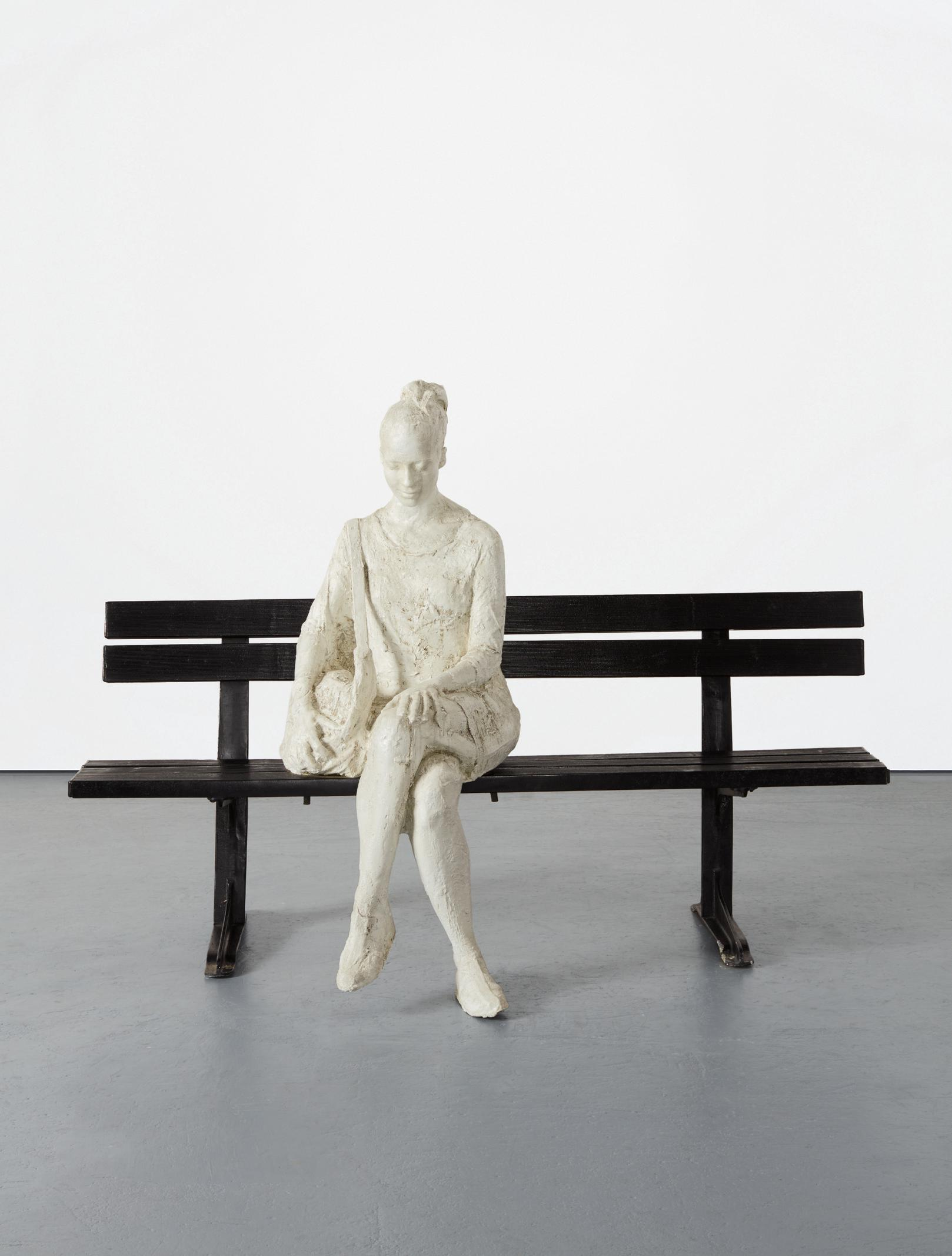 George Segal-Woman On Park Bench-1998