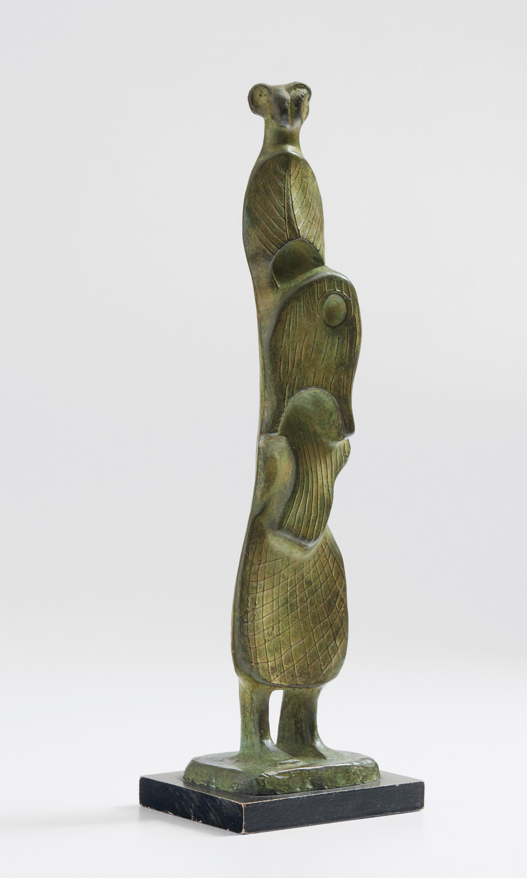 Henry Moore-Leaf Figure No. 4-1952