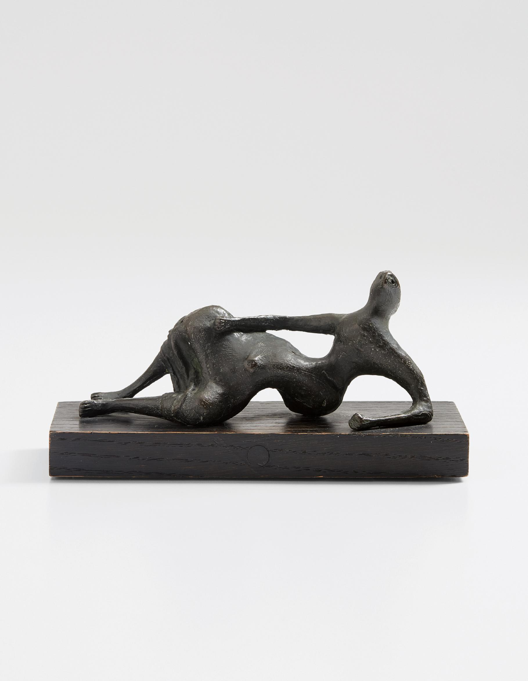 Henry Moore-Draped Reclining Figure-1956