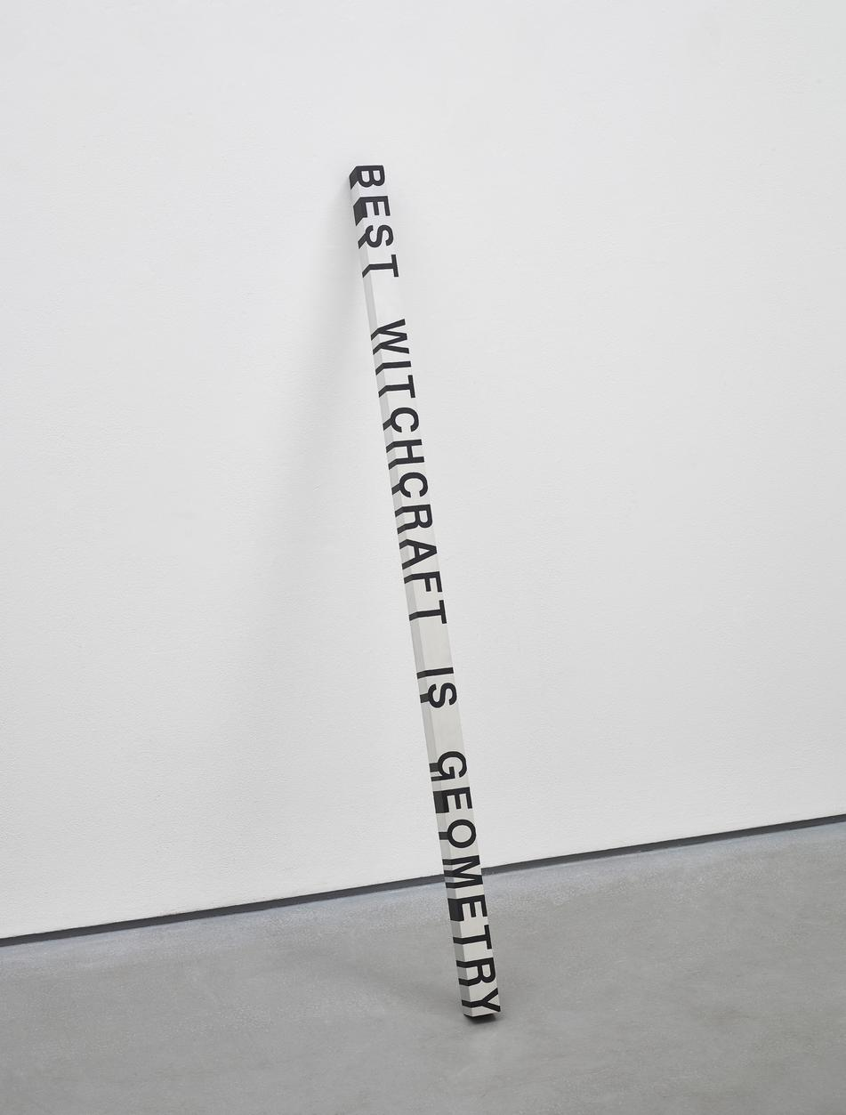 Roni Horn-Key And Cue No. 1158 (Best Witchcraft Is Geometry)-1994