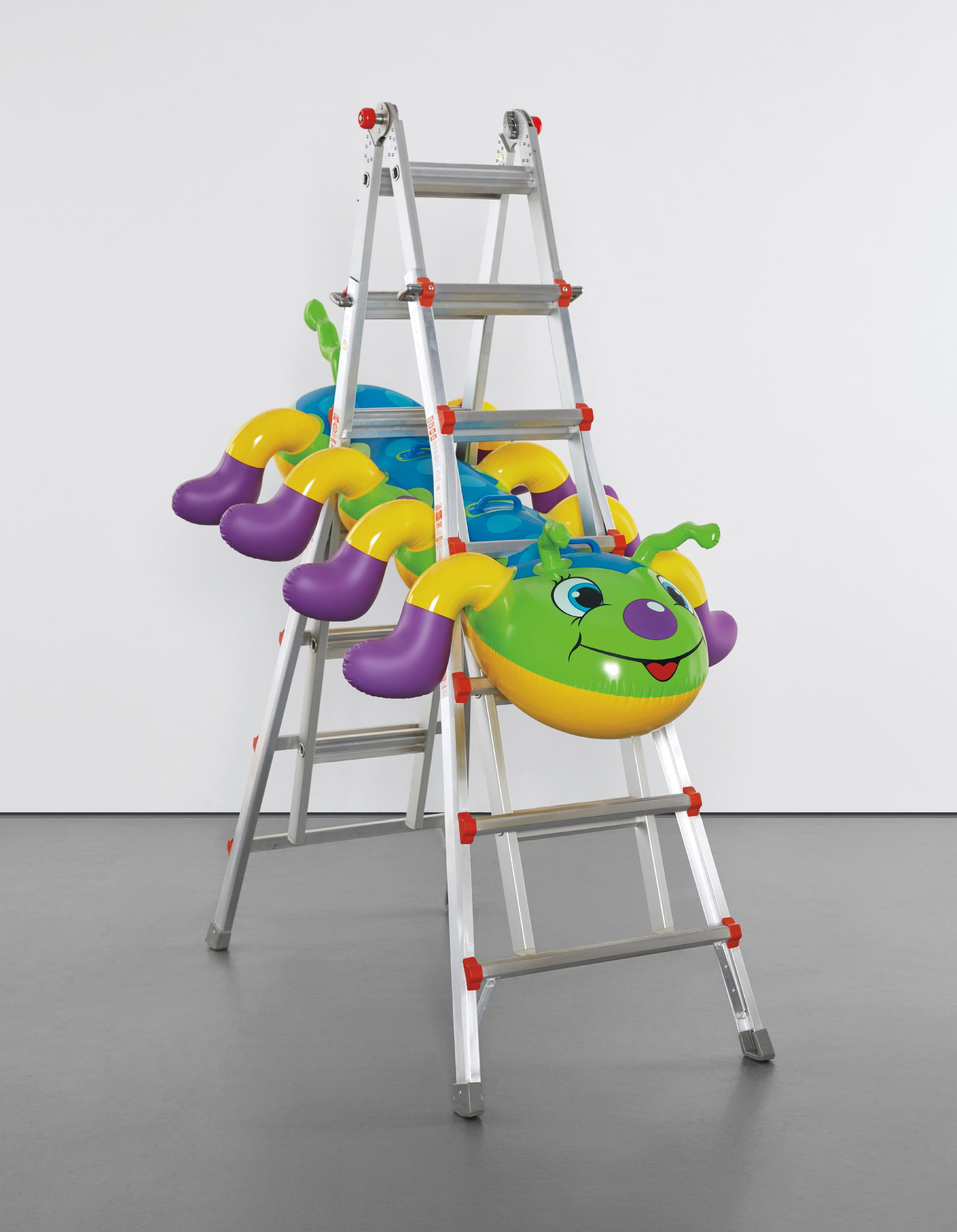 Jeff Koons-Caterpillar Ladder-2003