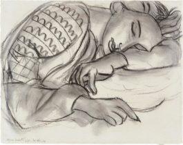 Henri Matisse-Jeune Fille Dormant A La Blouse Roumaine-1939