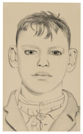Lucian Freud-Boy On The Stairs-1948