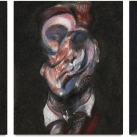 Francis Bacon-Three Studies Of George Dyer-1966
