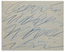 Cy Twombly-Untitled (Roman Note)-1970