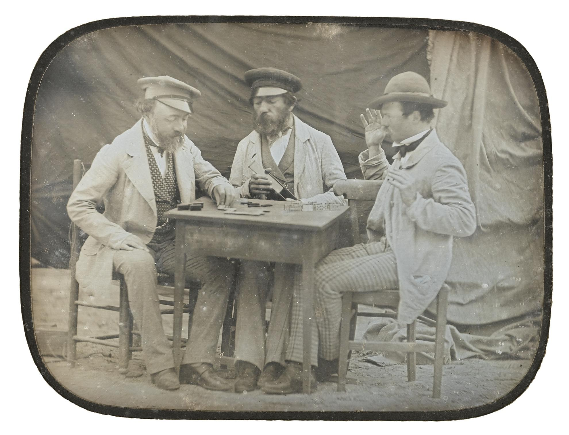 Anonyme - Domino Players-1850