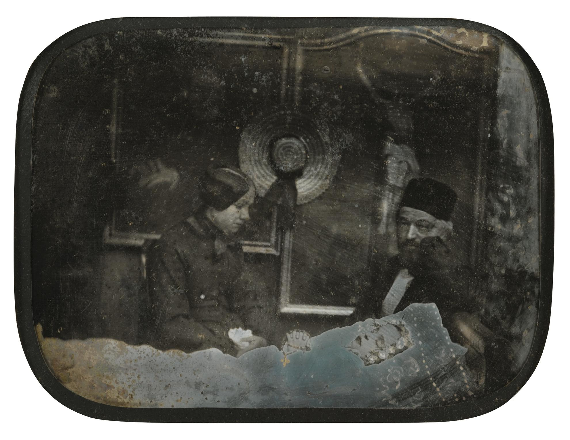 Anonyme - Post Mortem Portrait-1855