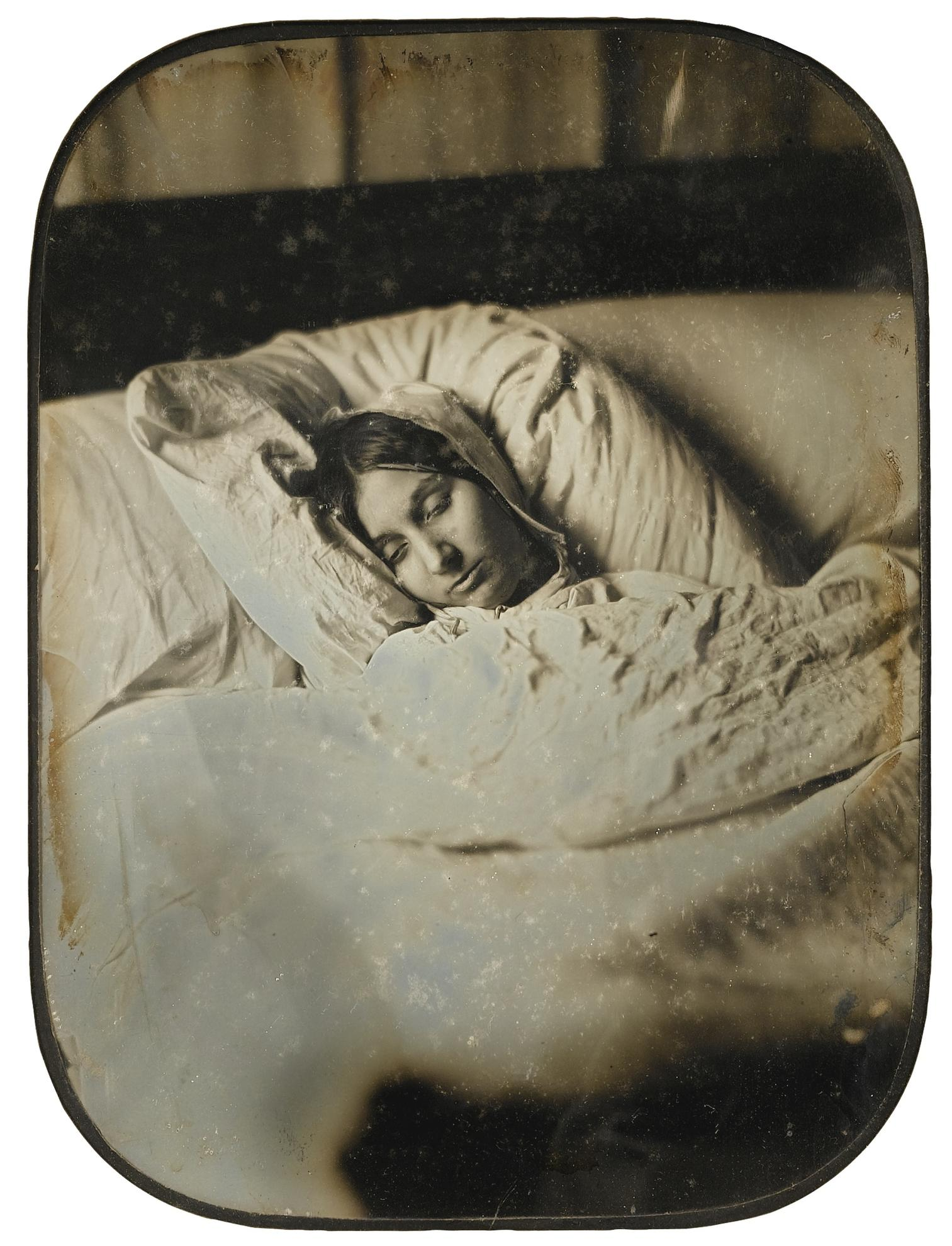 Jean-Baptiste Sabatier-Blot - Post Mortem Portrait-1855