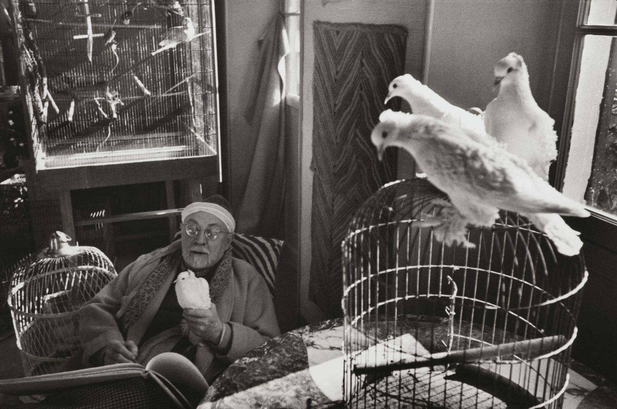 Henri Cartier-Bresson-Henri Matisse, Villa 'Le Reve', Vence, February-1944