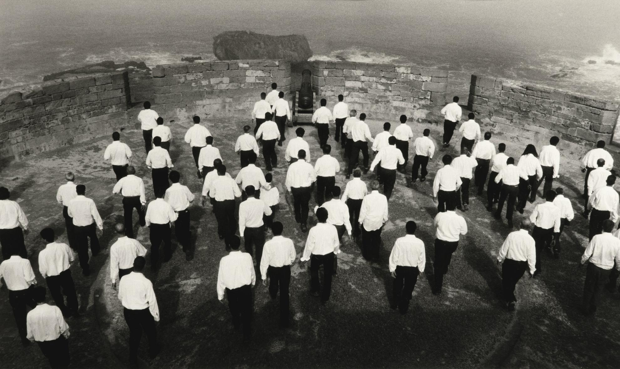 Shirin Neshat-Rapture, (Men)-1999