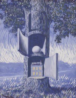 Rene Magritte-La Voix Du Sang-1947