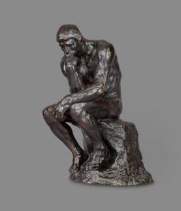 Auguste Rodin-Penseur, Petit Modele-1919