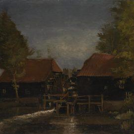 Vincent van Gogh-Le Moulin A Leau-1884